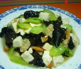 黄瓜海米烧豆腐