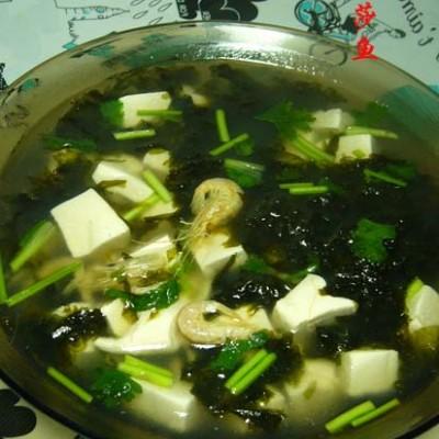 紫菜豆腐汤