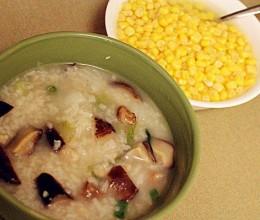 香菇鸡肉蔬菜粥
