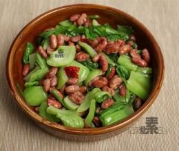 苦菜酥红豆