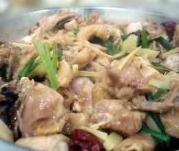 红葱头红枣蒸鸡