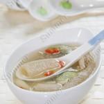 丝瓜竹荪鸡丝汤