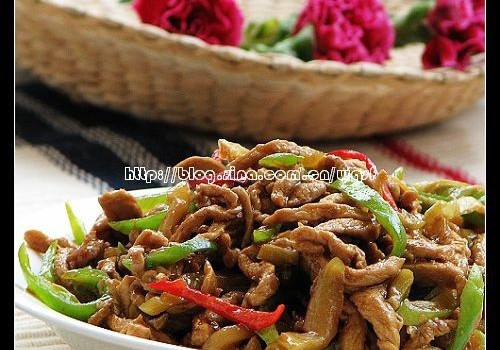 榨菜炒肉丝