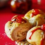 花式果干面包圈