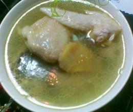 老姜鸡肉汤