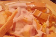 不放沙拉酱的水果沙拉