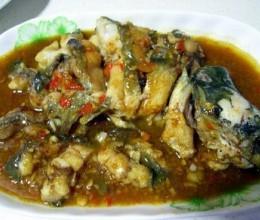 香辣酱焖鲶鱼