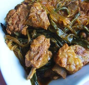红烧做法干豆角炖粉条的排骨炖猪肉一般跟什么菜比较好图片