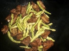 米粉步骤排骨的做法豆角鸡胸按煮熟称重图片