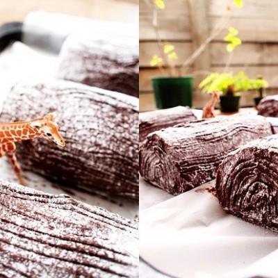 圣诞树干蛋糕(Christmas Log)