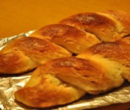 花生杏仁酱辫子面包