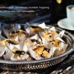 肉桂蓝莓玛芬
