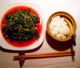 清炒红苋菜 ♨