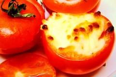 芝士焗番茄