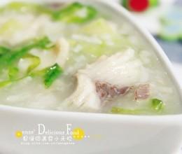 生菜鱼片粥