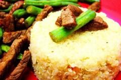 牛柳藜麦饭