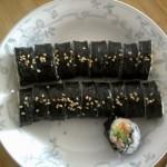 金枪鱼寿司卷