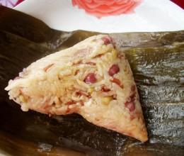 香茹红米肉粽