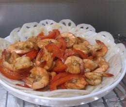 海鲜酱油炒海虾
