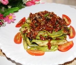 韩式肉酱拌秋茄