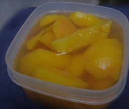 自制糖水黄桃