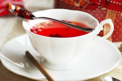 甜蜜蔷薇花果茶