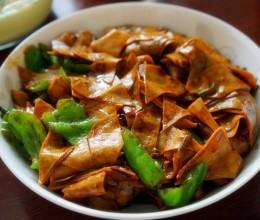 酱焖干豆腐