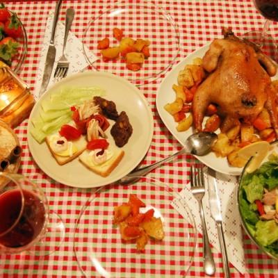 圣诞节晚餐