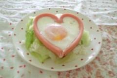 心形煎鸡蛋