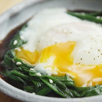 韩式韭菜温泉蛋