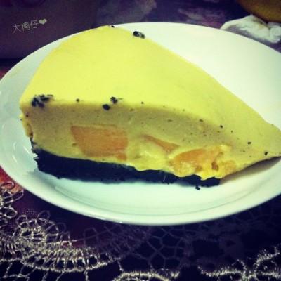 免烤版芒果芝士蛋糕