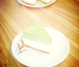 酸奶抹茶芝士蛋糕