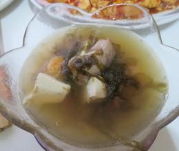 味增排骨汤
