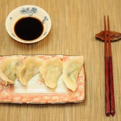 素饺子(新手教程)(Vegetarian Dumplings)