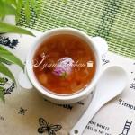 皂角米桃胶炖银耳糖水