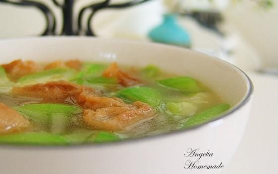 油条丝瓜汤