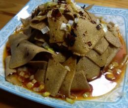 红油五香豆腐皮