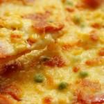 香浓玉米培根披萨
