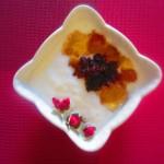 桃胶玫瑰糖酸奶