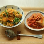 韓式辣白菜炒飯