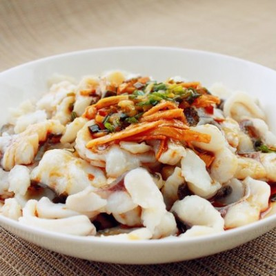 一鱼三味の清煮鱼片