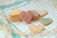 彩色砂糖饼干