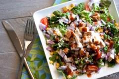 烤肉酱鸡肉沙拉 BBQ Chicken Salad