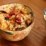 腊肠香菇焖饭
