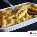 南瓜扇貝柱奶酪焗通心粉