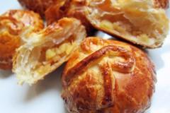 酥皮苹果包