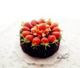 奥利奥水果奶油蛋糕