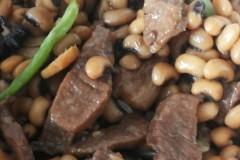 排骨,瘦肉,八角,焖眉豆