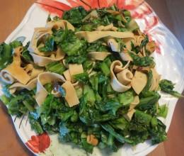豆皮油麦菜