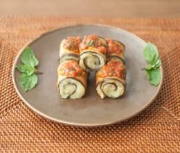 烤土豆泥茄子卷(Mashed Potato and Aubergines Roll)